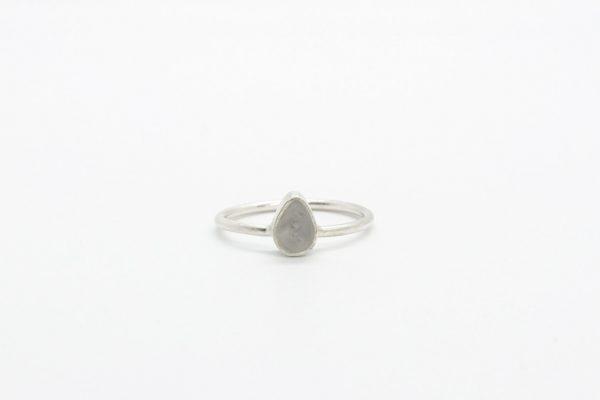 ring-druppel-zilver